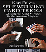 Karl Fulves - Self working card tricks - Book