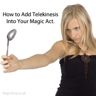 Telekinesis for magicians