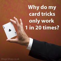 How to learn a card magic trick for consistancy
