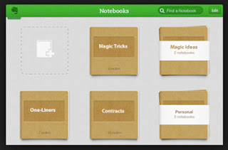 20 Notebooks for Evernote Magicians