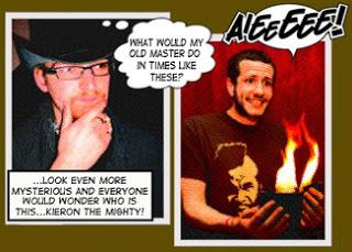 Kieron Johnson discusses the old magic masters