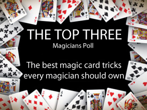 Over 2000 magicians vote for the best magic card tricks