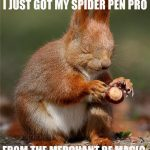 Spider Pen Pro - Recommended by Magicians at MoM