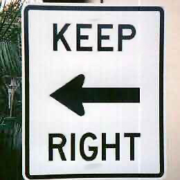 keep-right-misdirection