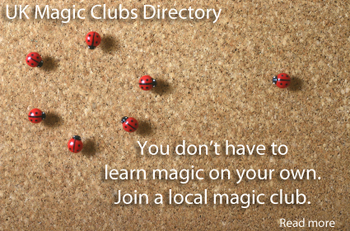 Directory of UK Magic Clubs and Societies