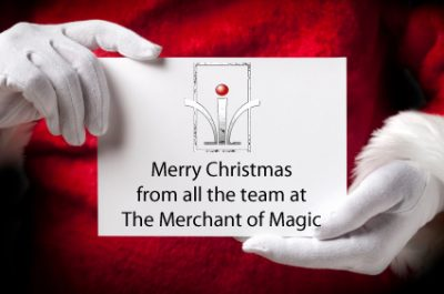 Merry Christmas from the Magic Shop