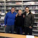 Magician Bill Abbott Visits the Magic Shop