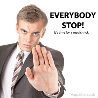 How Magicians Can Approach and Interupt People to do Magic Tricks