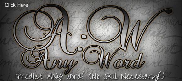 Any Word