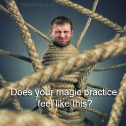 Stuck with your magic practice