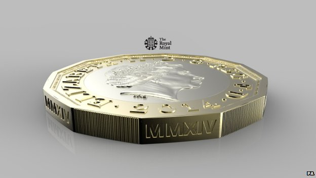 Magic Tricks with New UK £1 Coin