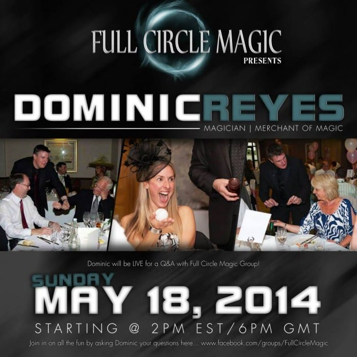Dominic Reyes Interview