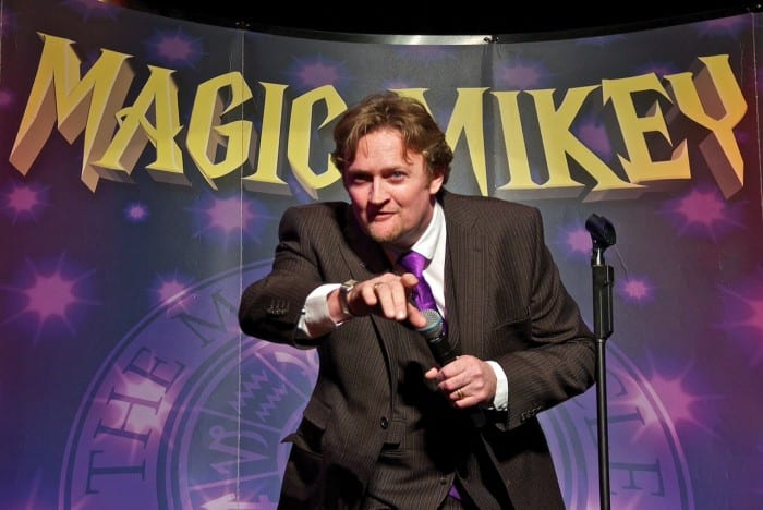 michael fairall magician Interview