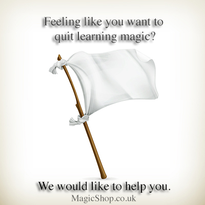 Quit learning magic