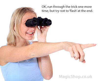 Magic tricks with your wife