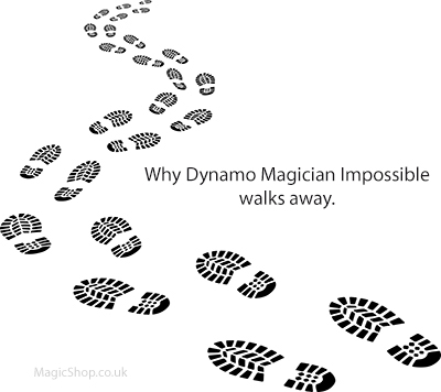 Dynamo Magician Impossible Walks Away