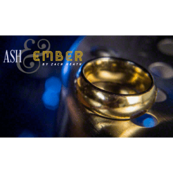 Ash and Ember Gold Curved Design