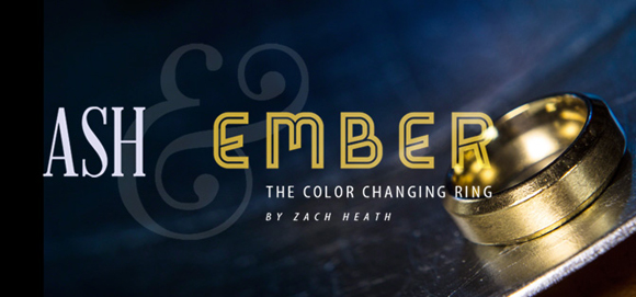 Ash and Ember Colour Changing Ring