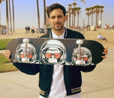 Dynamo Magician Impossible Season 4 - The Skateboard Trick