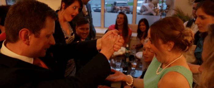 Steve Rowe wedding fayre magician