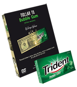 Best Magic Tricks 2014 Dollar to Gum