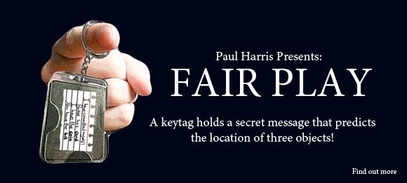 Fair Play Magic Trick