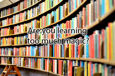 The Dangers of Learning New Magic Tricks