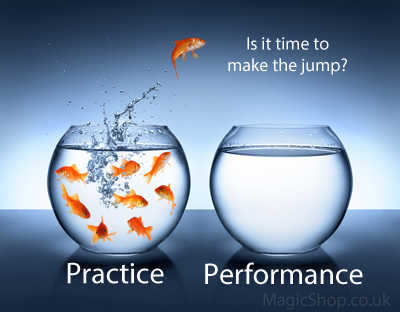 Magic Practice Vs Performance