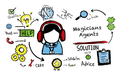 Magicians Agents - Why They are Needed and How to Get One