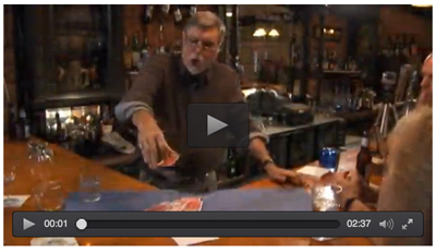 Best Magic tricks - Card under glass