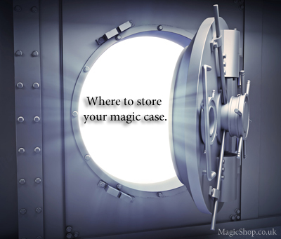 Where to keep your magician's case