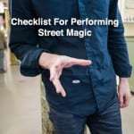 10 Steps to Performing Street Magic
