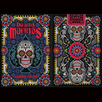 Bicycle playing cards uk dia de los muertos