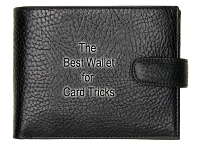 The Best Wallet for card tricks - reviews