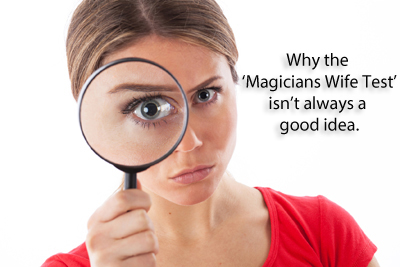Magicians Wife Test