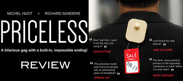Priceless by Richard Sanders Reviews