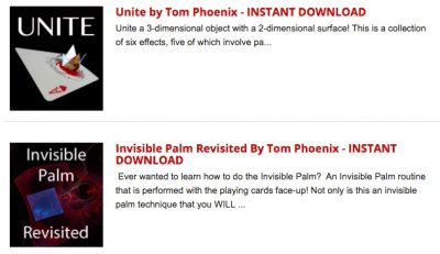 Tom Phoenix ebooks