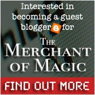 Interested in Guest Blogging at The Merchant of Magic? - How to do
