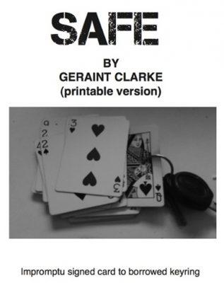 SAFE Geraint Clarke