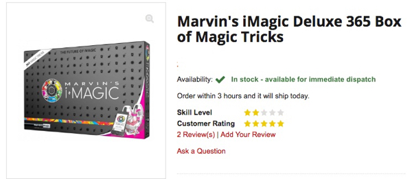 Marvins Magic Set