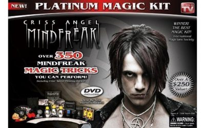 Criss Angel Magic Sets for Adults