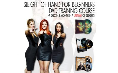 Sleight of hand magic sets for adults