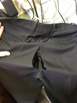 Could this happen to your magicians trousers?