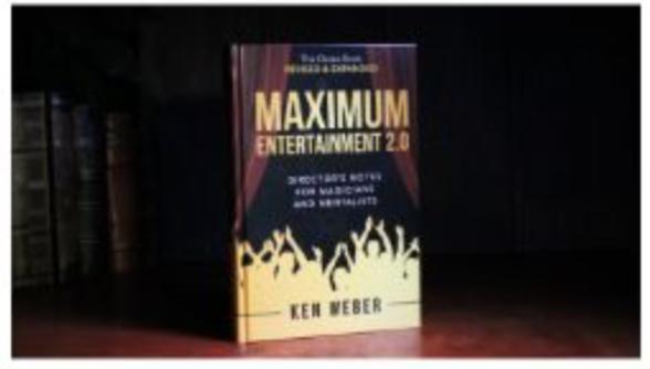 Maximum Entertainment For Magicians